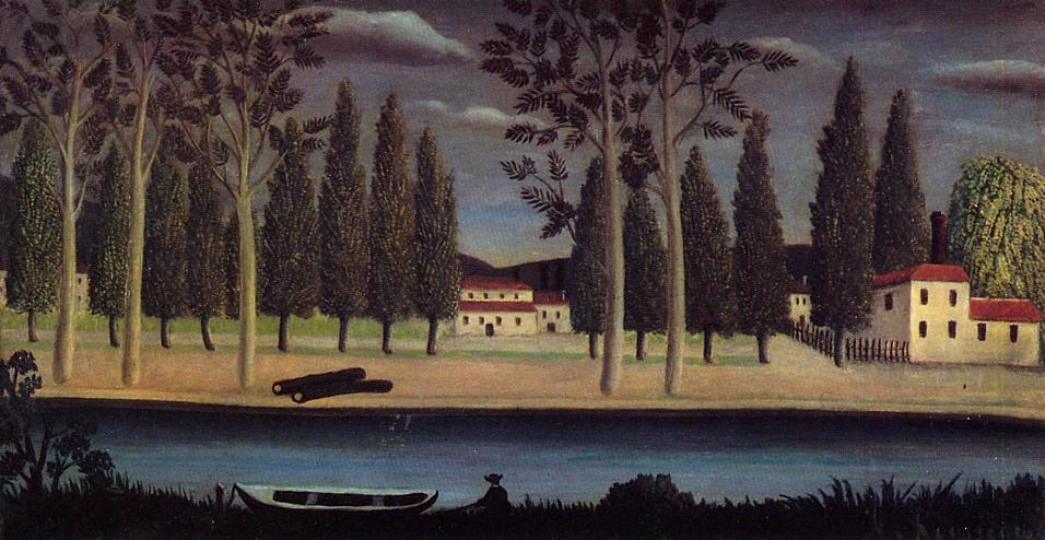 River Bank 1890 | Henri Rousseau | Oil Painting