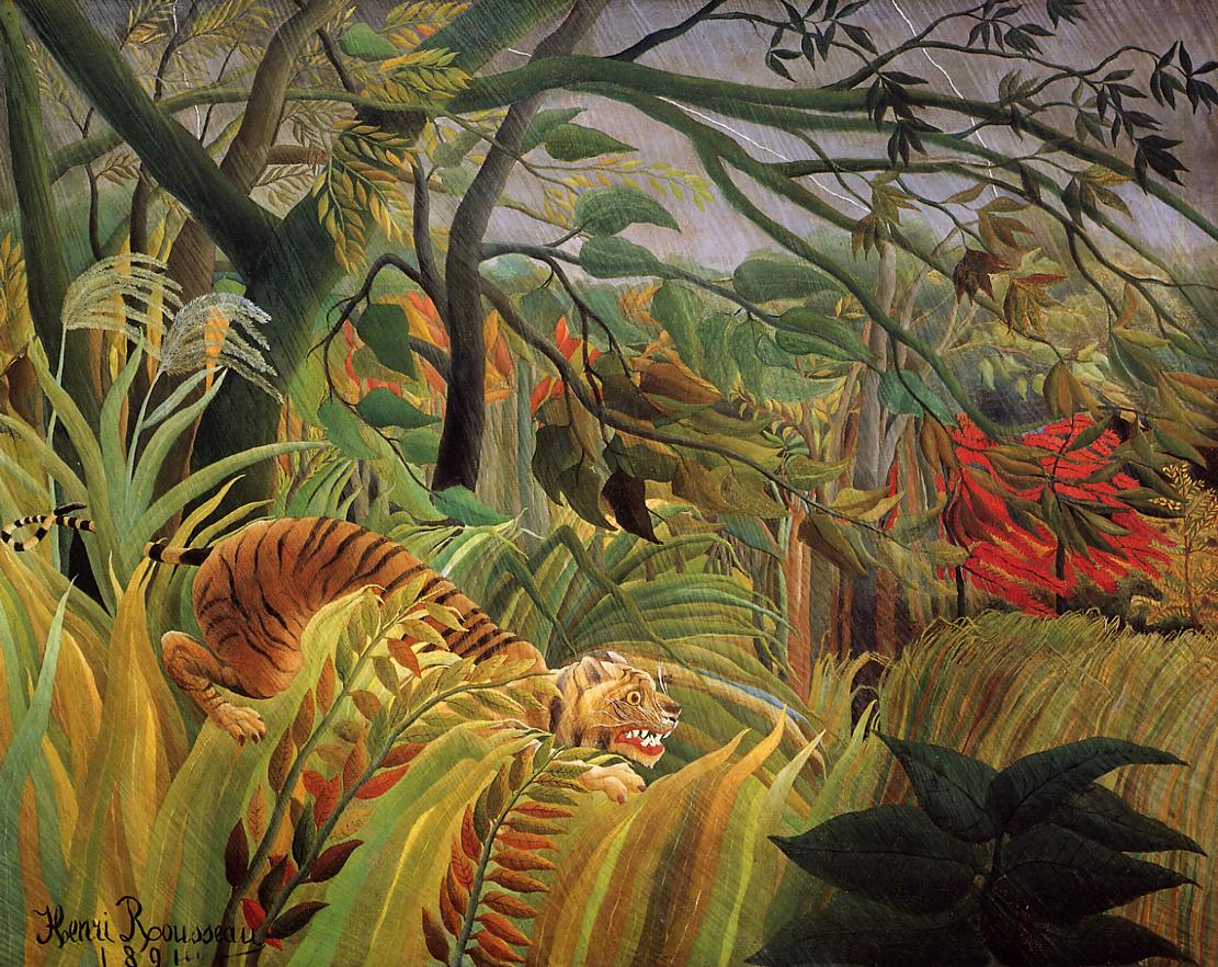 Surprise 1891 | Henri Rousseau | Oil Painting