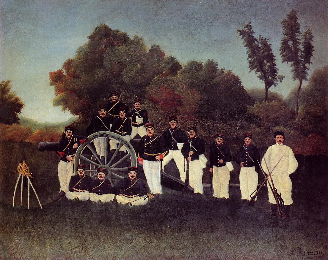 The Artilleryman 1893 | Henri Rousseau | Oil Painting