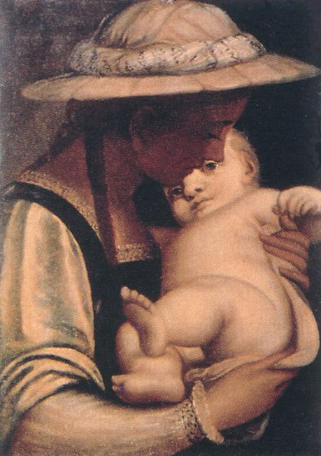 Virgin and Child 1550s | Luca Cambiaso | Oil Painting