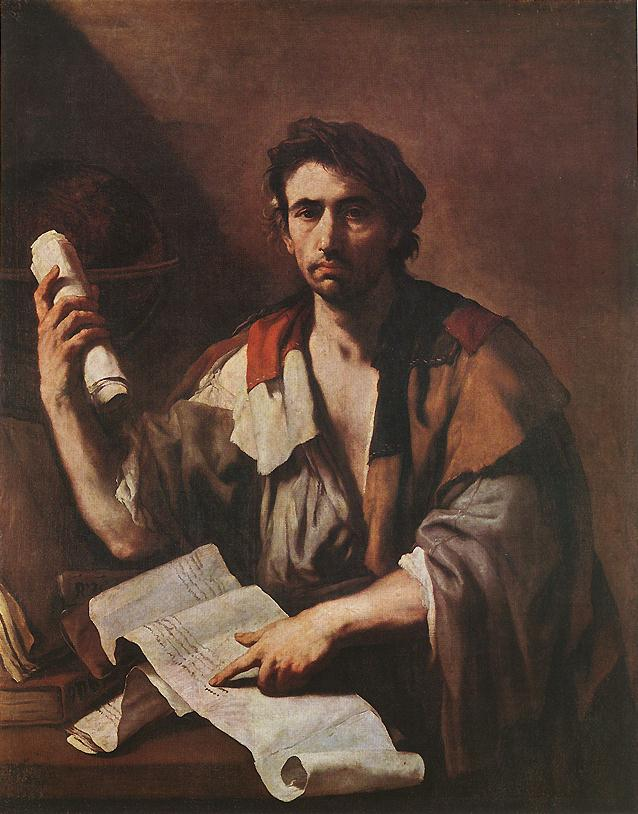 A Cynical Philospher | Luca Giordano | Oil Painting