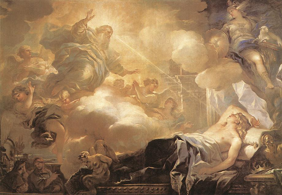 Dream Of Solomon 1693 | Luca Giordano | Oil Painting