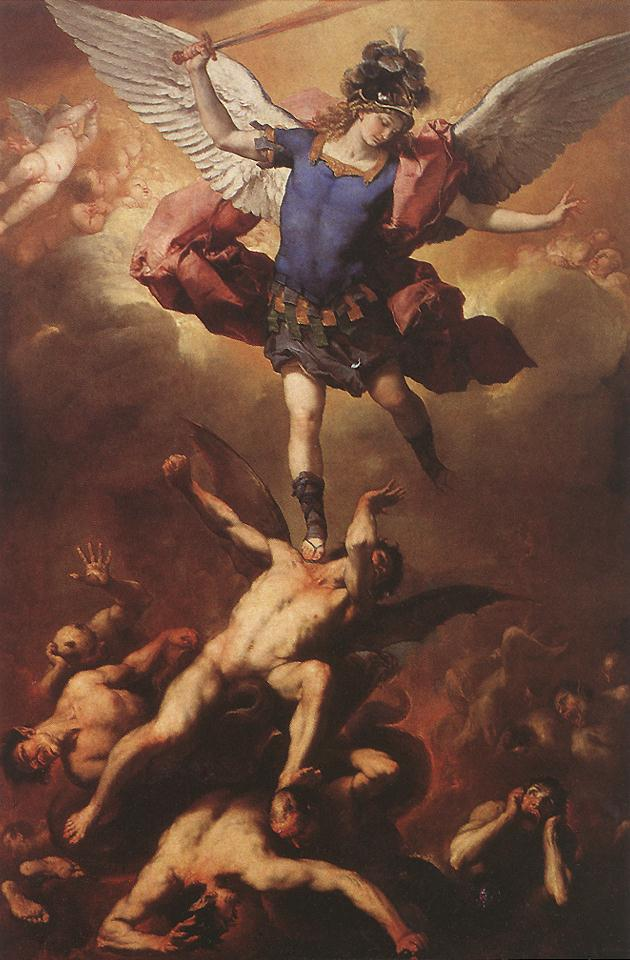 The Fall Of The Rebel Angels 1666 | Luca Giordano | Oil Painting