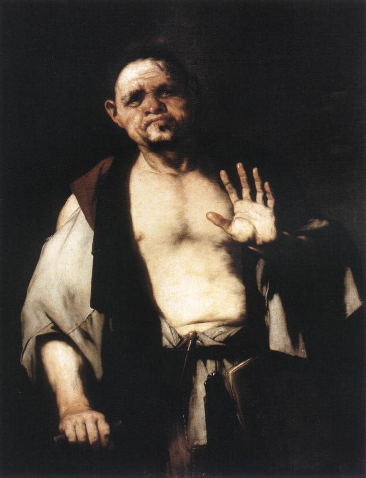 The Philospher Cratetes 1650 | Luca Giordano | Oil Painting