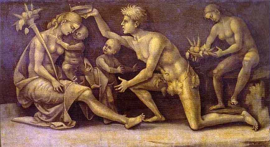 Allegory Of Fecundity And Abundance 1500 | Luca Signorelli | Oil Painting