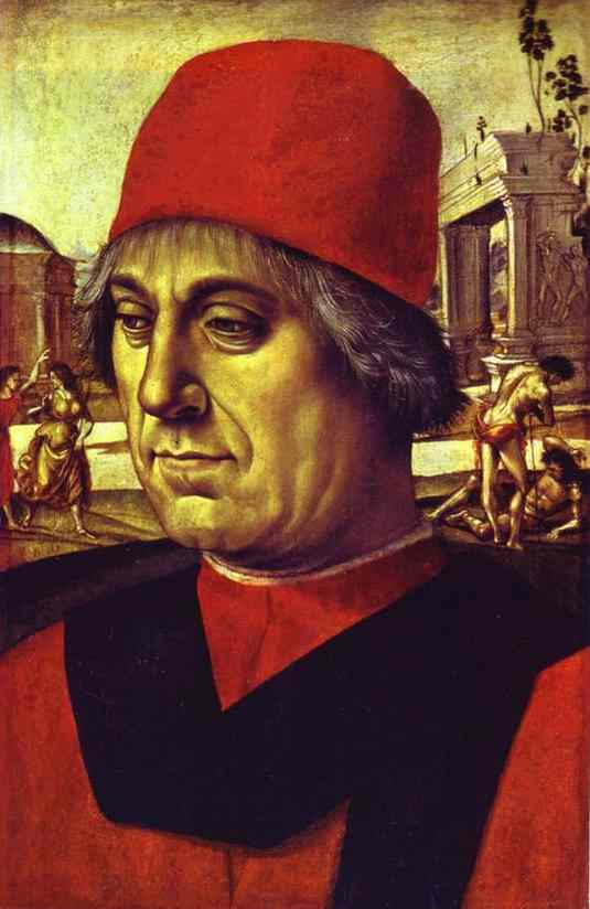 Portrait Of An Elderly Man 1492 | Luca Signorelli | Oil Painting