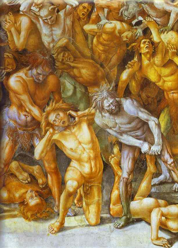 The Hell Detail 1499-1503 | Luca Signorelli | Oil Painting