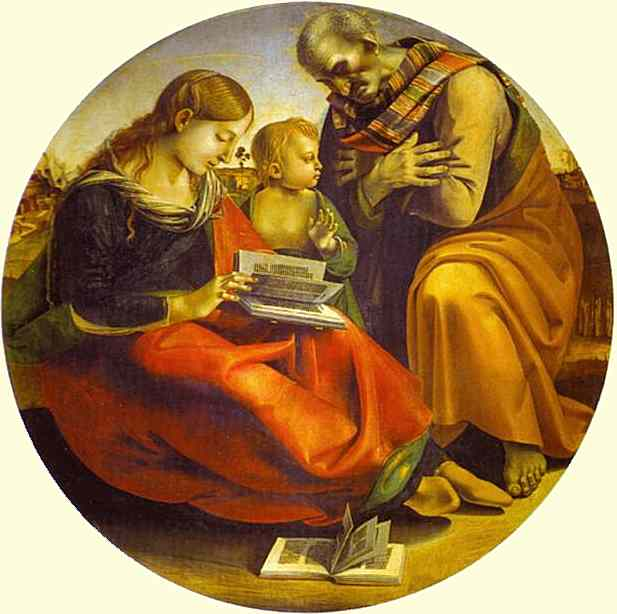 The Holy Family 1490 | Luca Signorelli | Oil Painting
