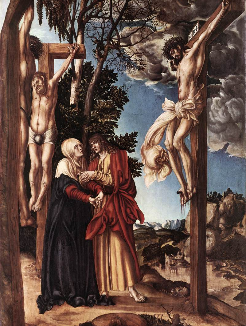 Crucifixion | Lucas The Elder Cranach | Oil Painting