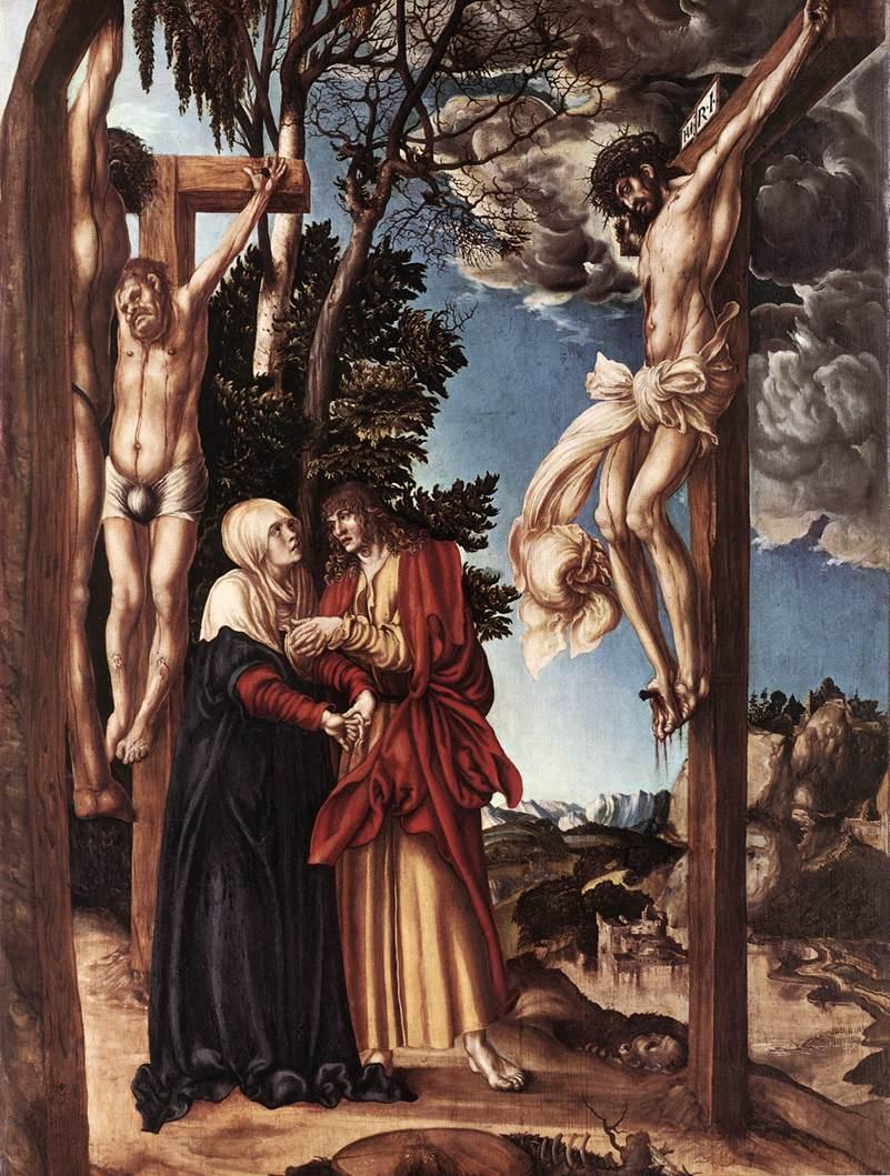 Crucifixion | Lucas The Elder Cranach | Oil Painting