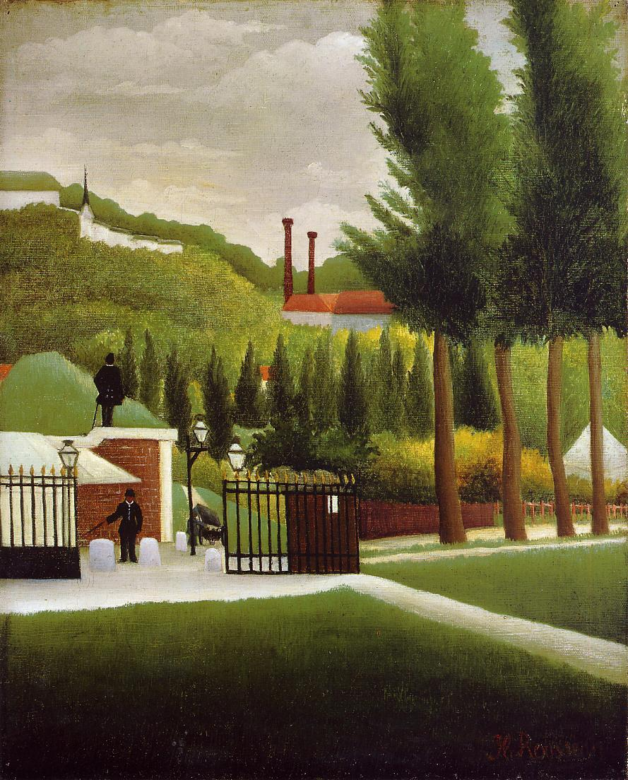 The Customs House 1890-1895 | Henri Rousseau | Oil Painting