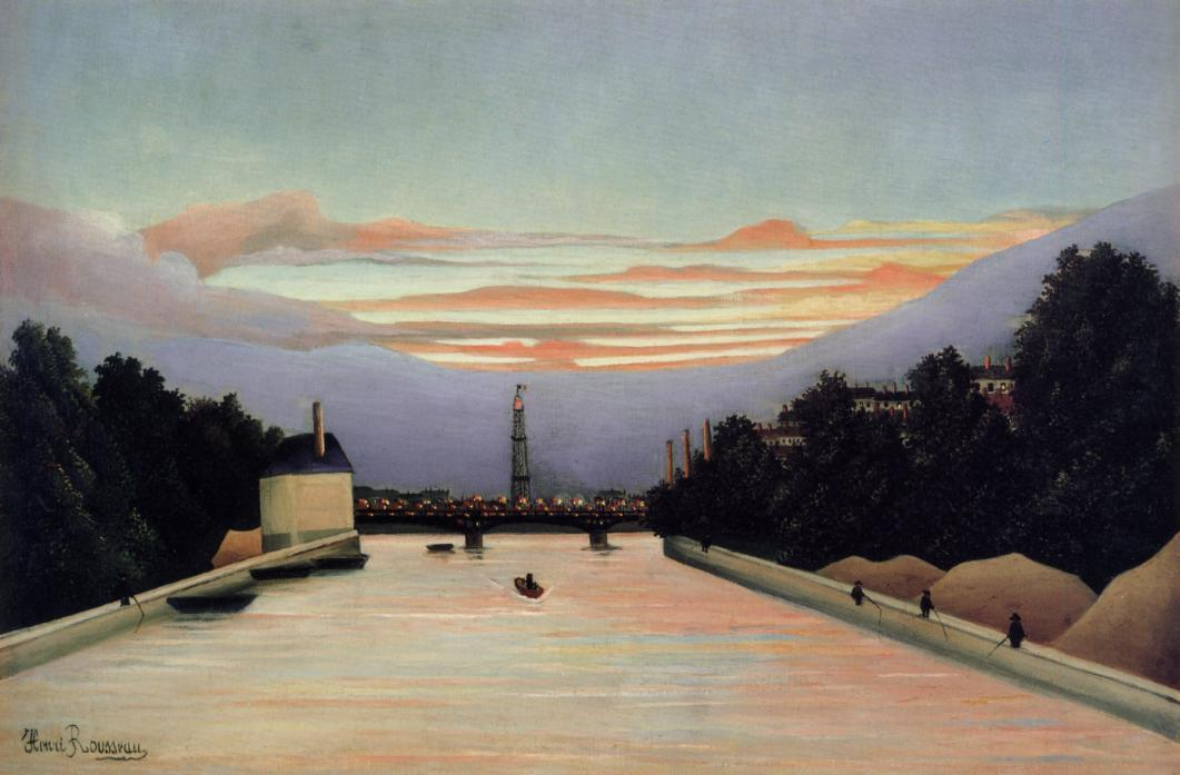 The Eifel Tower 1898 | Henri Rousseau | Oil Painting