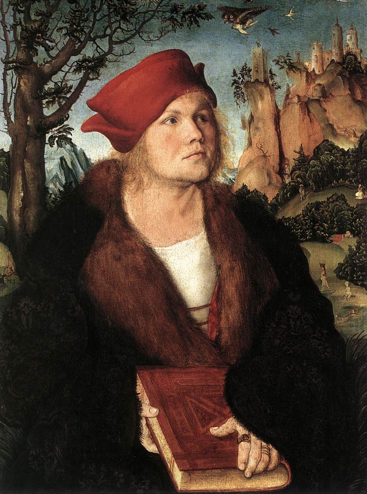 Portrait Of Drjohannes Cuspinian | Lucas The Elder Cranach | Oil Painting