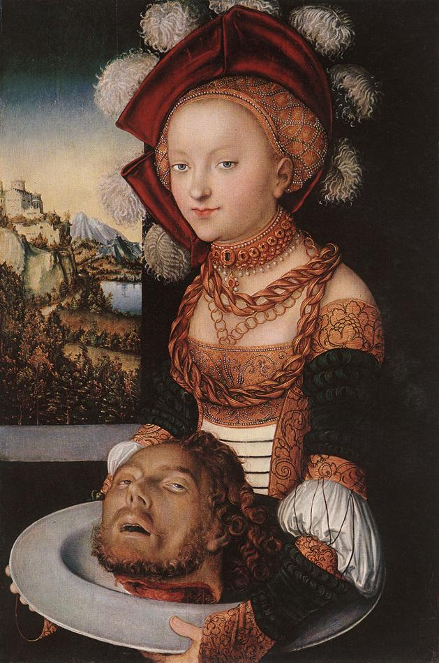 Salome | Lucas The Elder Cranach | Oil Painting