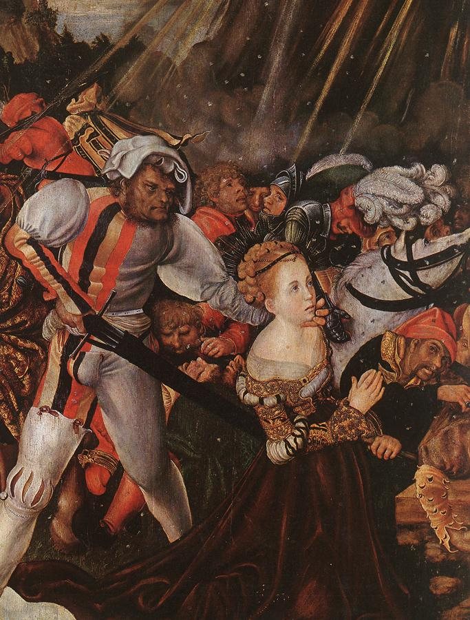The Martyrdom Of St Catherine | Lucas The Elder Cranach | Oil Painting