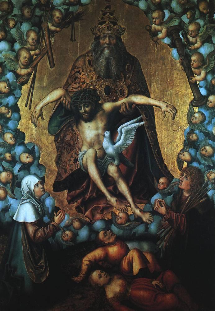 The Trinity | Lucas The Elder Cranach | Oil Painting