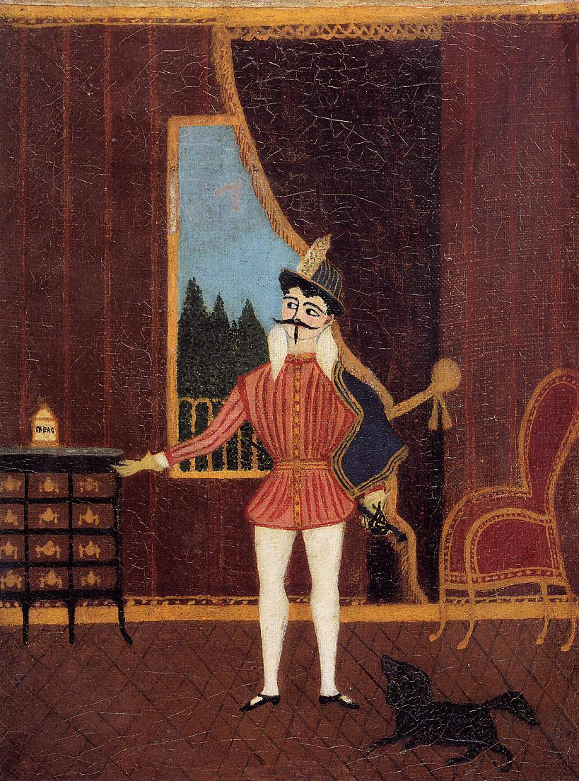 The Little Cavalier Don Juan 1877-1880 | Henri Rousseau | Oil Painting