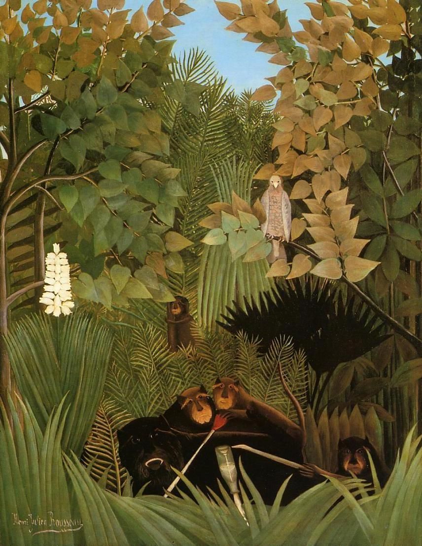 The Merry Jesters 1906 | Henri Rousseau | Oil Painting