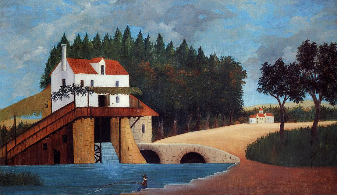 The Mill 1879 | Henri Rousseau | Oil Painting