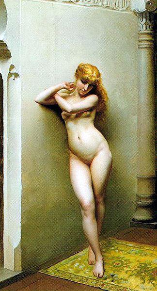 The Favourite 1880 | Luis Ricardo Falero | Oil Painting