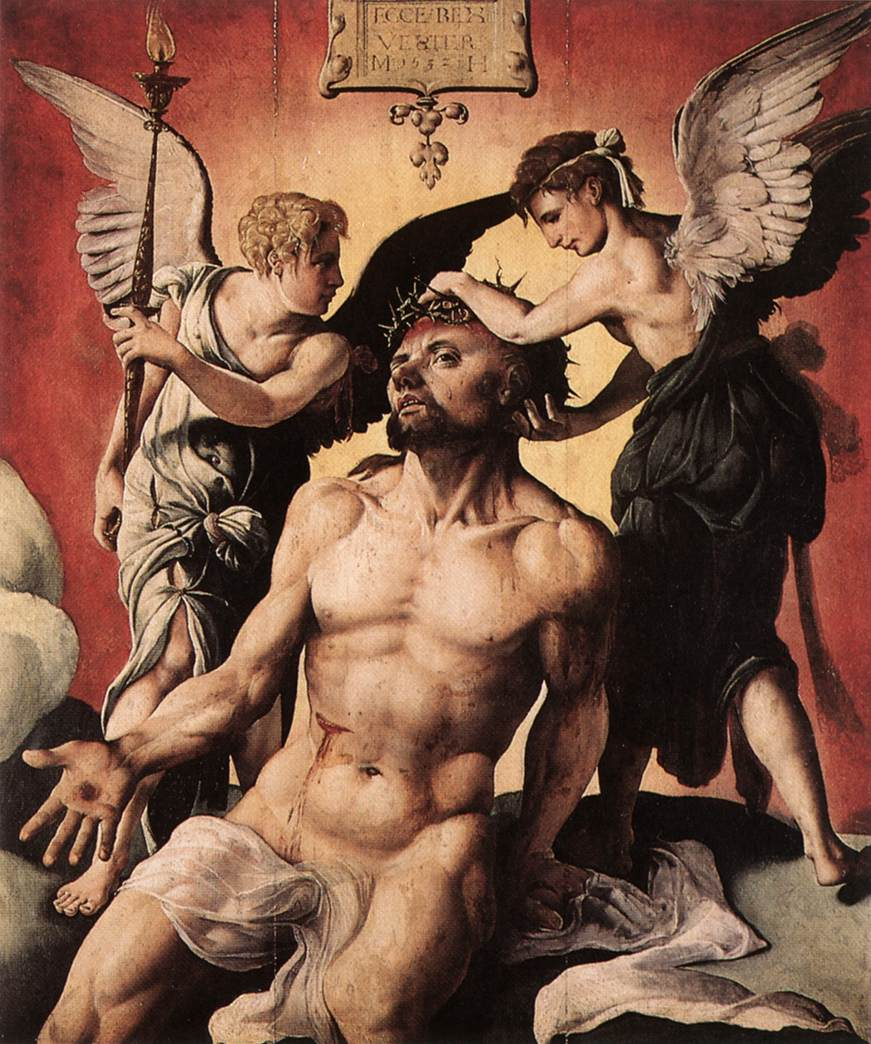 Man Of Sorrows 1532 | Maerten Jacobsz Van Heemskerch | Oil Painting