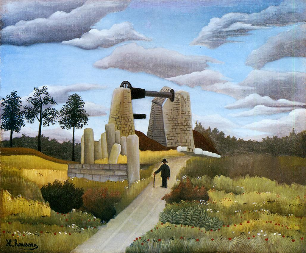 The Quarry 1896-1897 | Henri Rousseau | Oil Painting