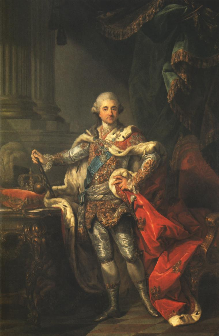 Portrait Of King Stanislaus Augustus In A Coronation Costume | Marcello Bacciarelli | Oil Painting