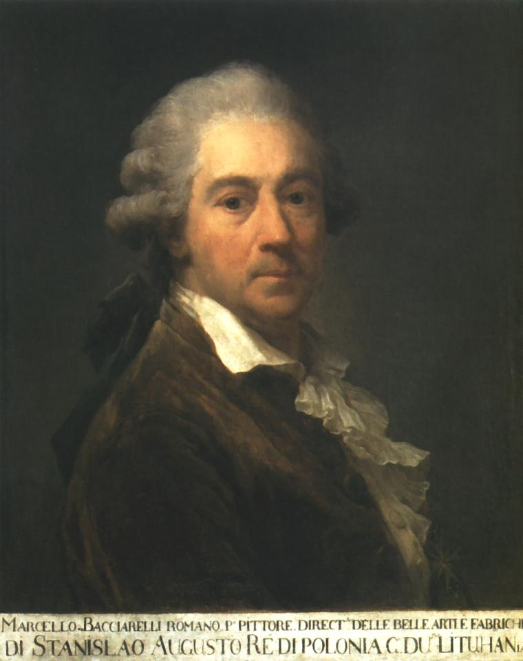 Self Portrait 1793 | Marcello Bacciarelli | Oil Painting