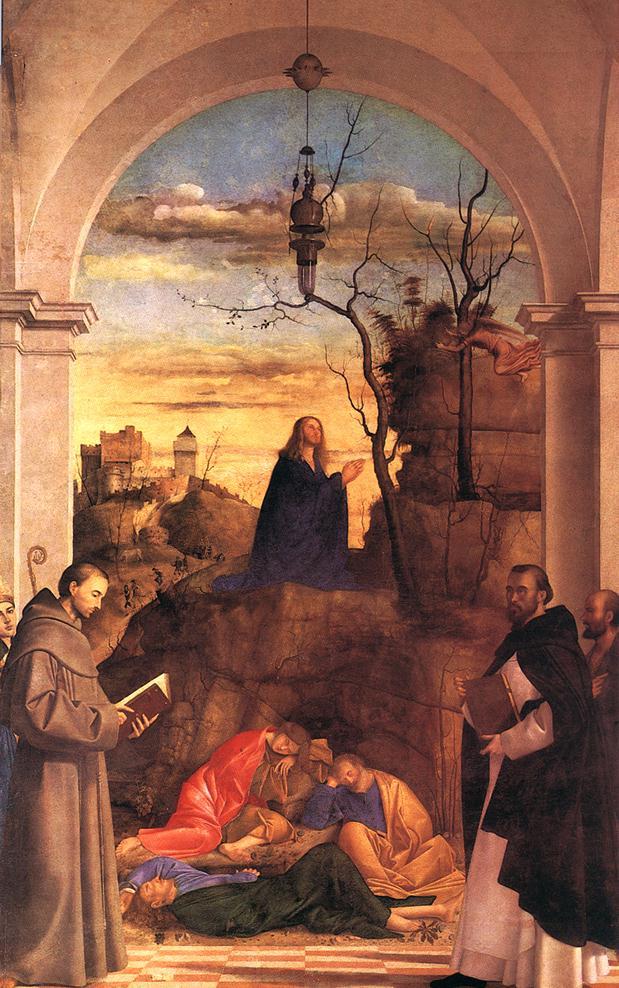 Christ Praying in the Garden 1516   Marco Basaiti   Oil Painting