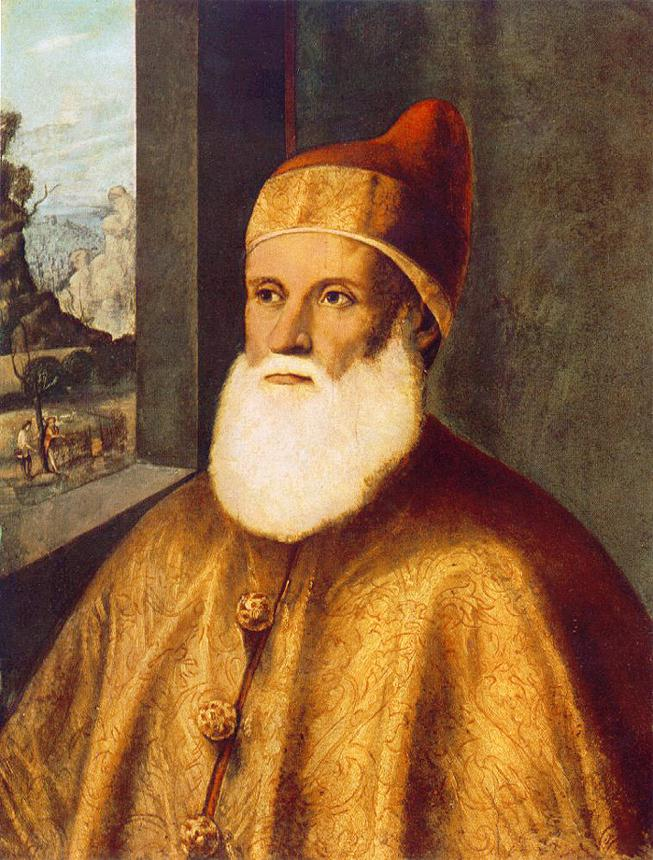 Portrait of Doge Agostino Barbarigo | Marco Basaiti | Oil Painting