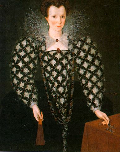 Portrait Of Mary Rogers Lady Harrington | Marcus The Younger Gheeraerts | Oil Painting