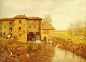 Le Moulin De Gatellier | Marie Firmin-Girard | Oil Painting