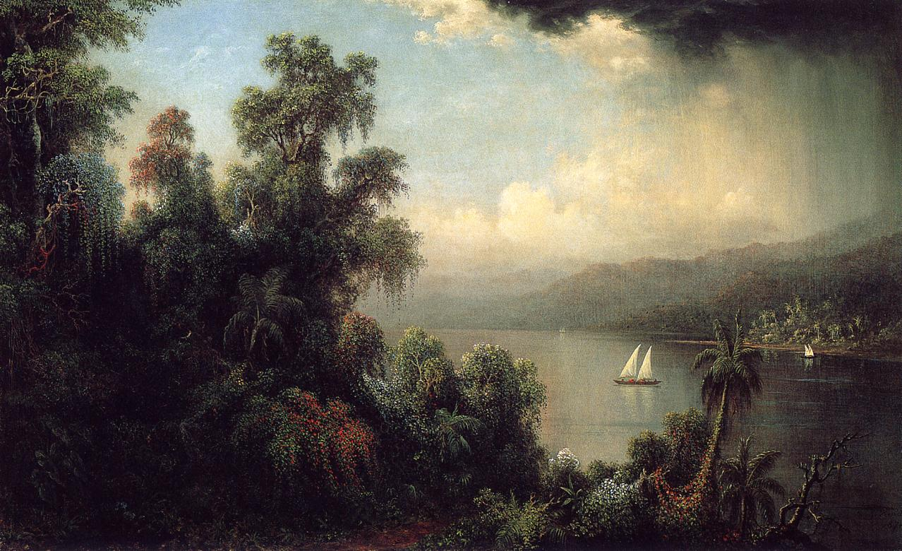 Coast of Jamaica 1874 | Martin Johnson Heade | Oil Painting