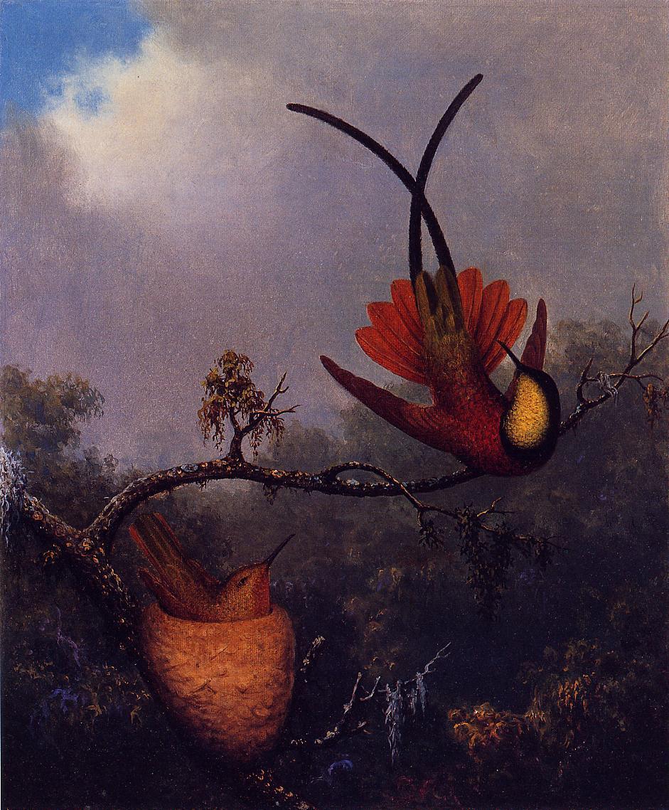 Crimson Topaz 1864-1865 | Martin Johnson Heade | Oil Painting