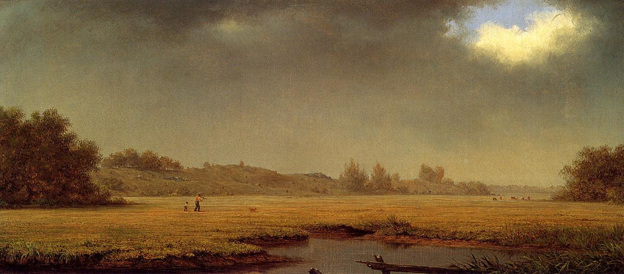 Cloudy Day Rhode Island 1861