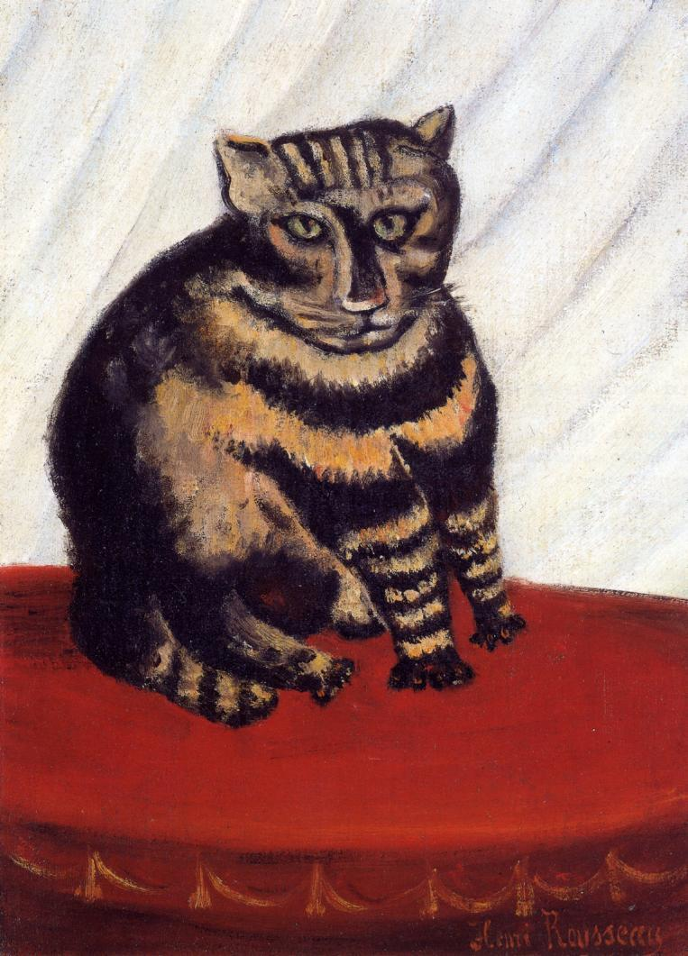 The Tiger Cat | Henri Rousseau | Oil Painting