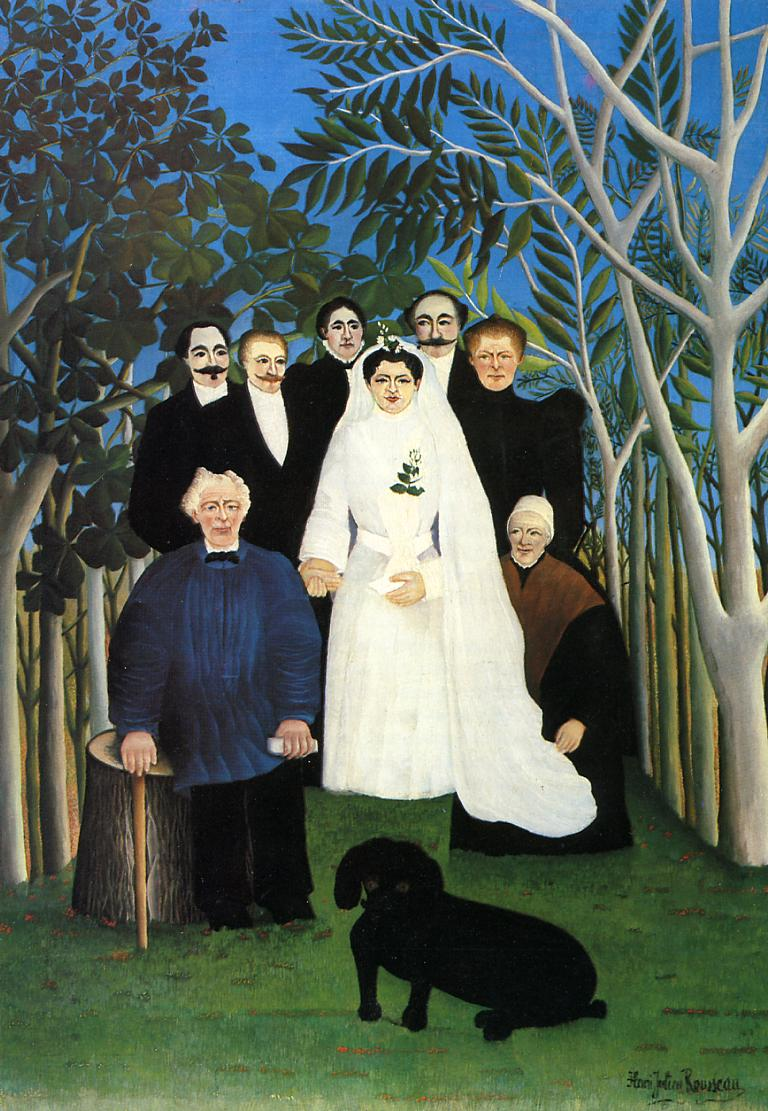The Wedding 1904-1905 | Henri Rousseau | Oil Painting