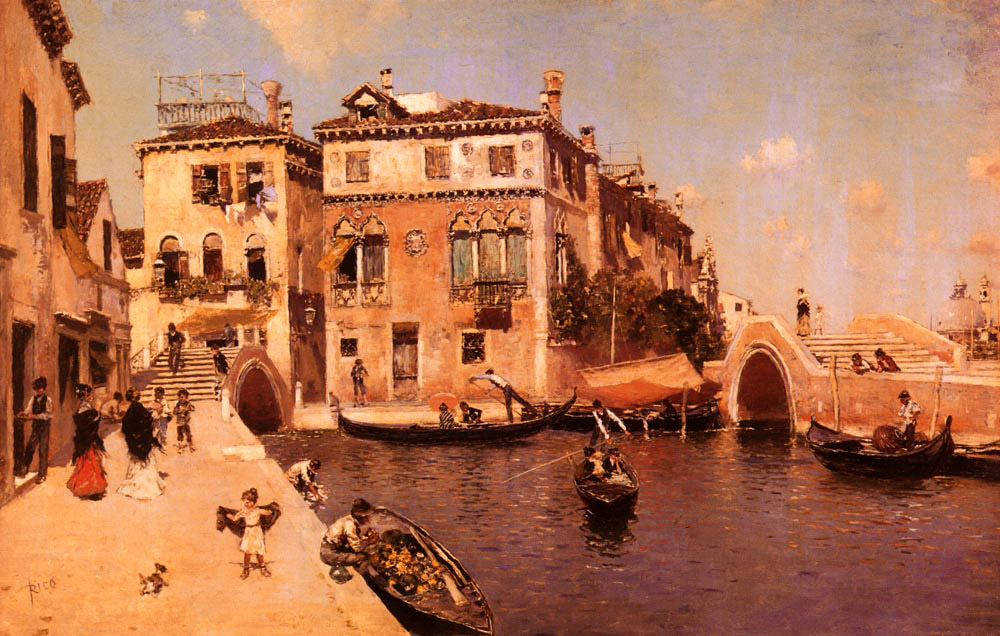 A Venetian Afternoon | Martin Rico y Ortega | Oil Painting