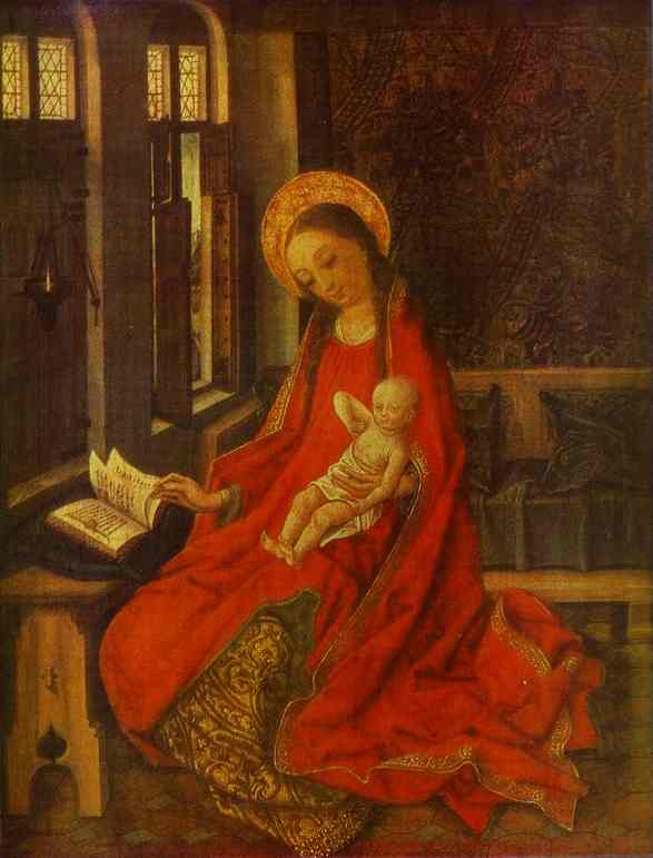 The Virgin With Infant | Martin Schongauer | Oil Painting
