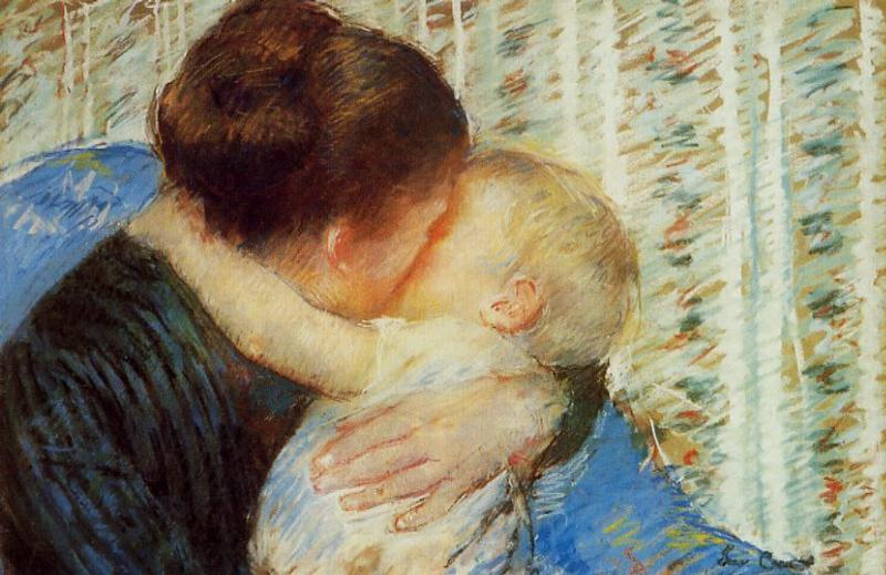 Mother and Child 1880 | Mary Cassatt | Oil Painting