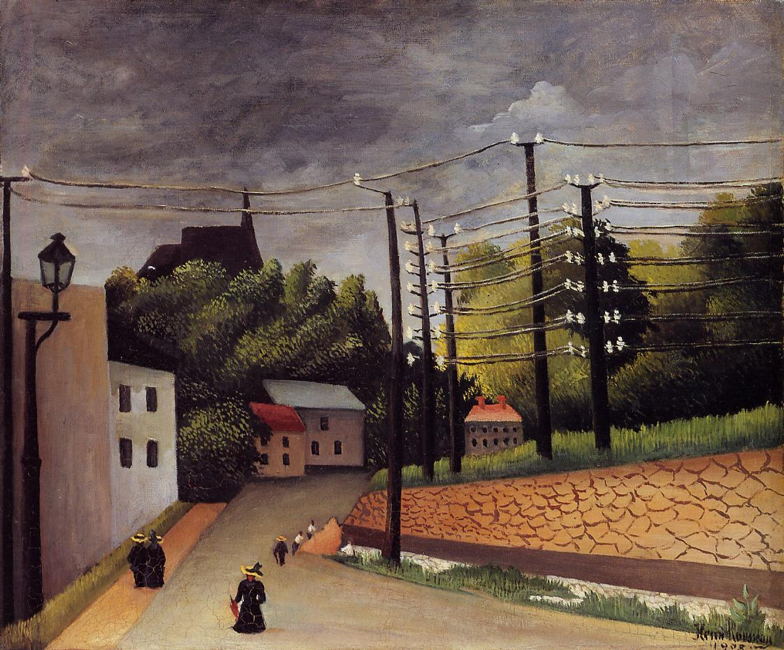 View of Malakoff 1908 | Henri Rousseau | Oil Painting
