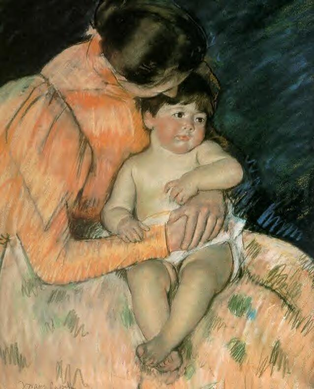 Mother and Child 1890 | Mary Cassatt | Oil Painting