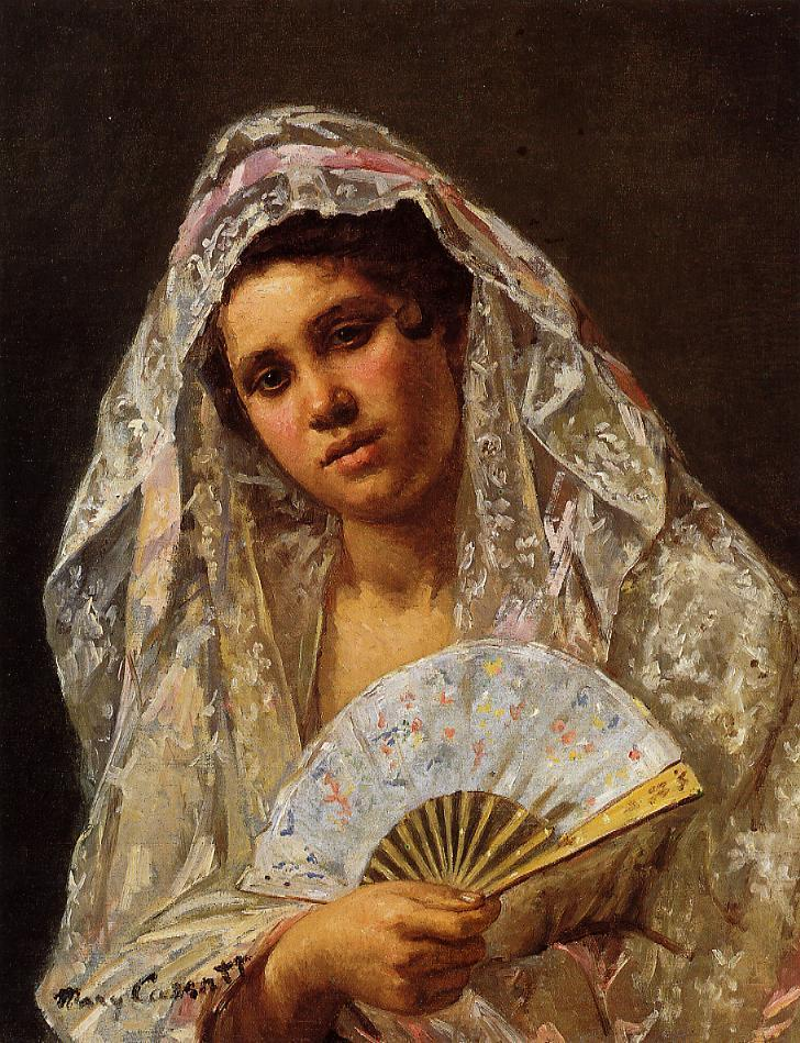 A Seville Belle 1873 | Mary Cassatt | Oil Painting