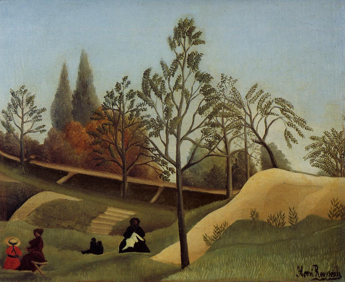 View of the Fortifications 1896 | Henri Rousseau | Oil Painting