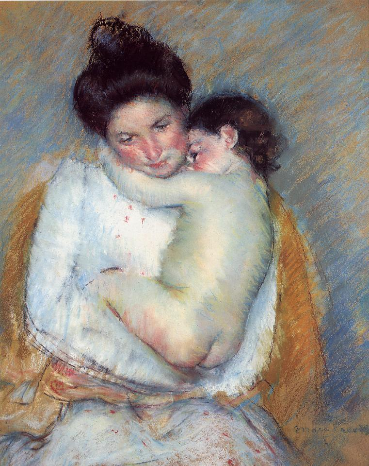 Mother and Child 1900-2 | Mary Cassatt | Oil Painting