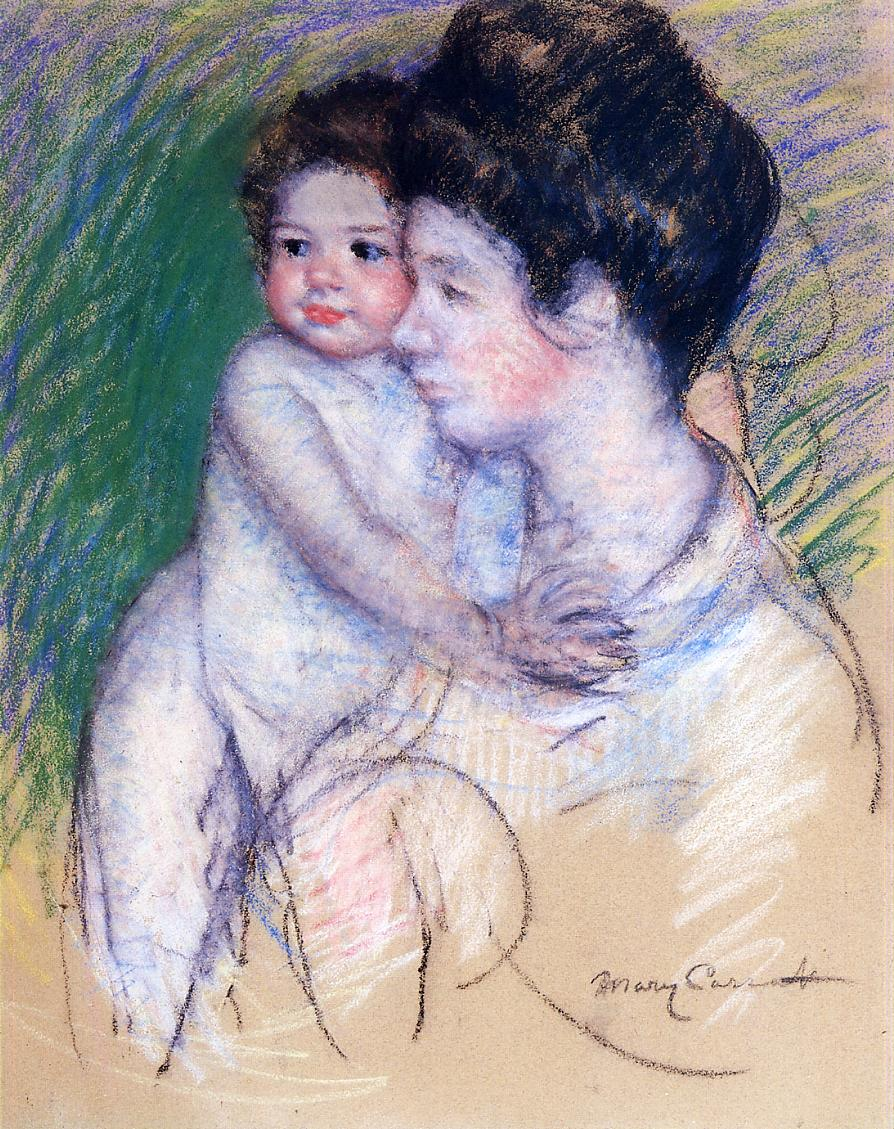 Motherhood 1902 | Mary Cassatt | Oil Painting