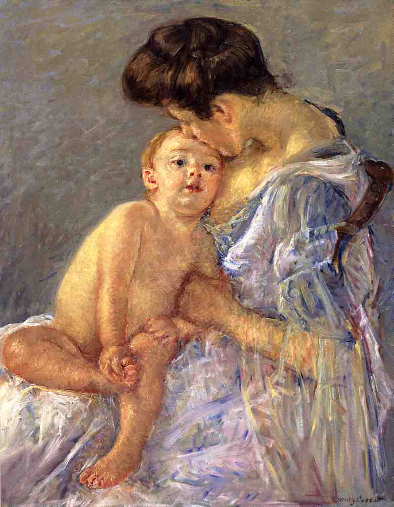 Motherhood 1906 | Mary Cassatt | Oil Painting