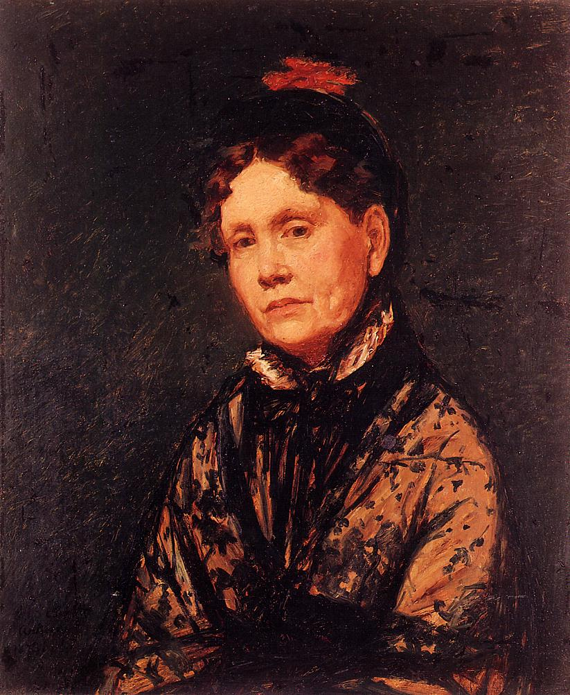 Mrs. Robert Simpson Cassatt 1873 | Mary Cassatt | Oil Painting