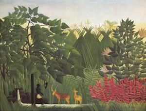 Waterfall | Henri Rousseau | Oil Painting