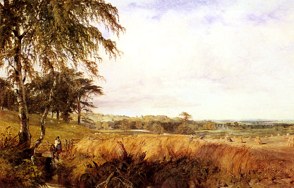 Harvest   Henry Dawson   Oil Painting